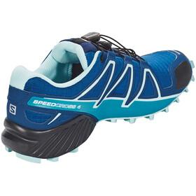 Salomon W's Speedcross 4 Shoes Poseidon/Eggshell Blue/Black